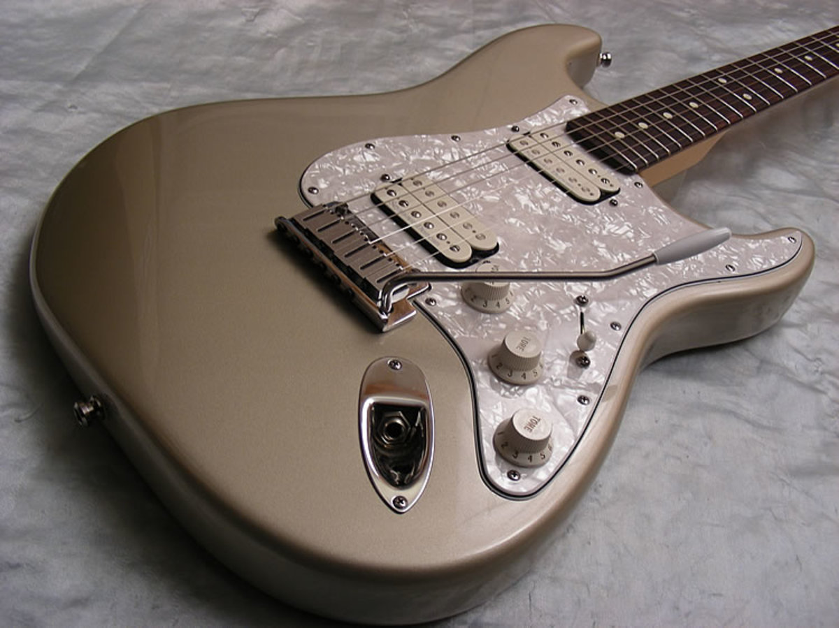 The Best New Fender Stratocaster Guitars with Humbucking Pickups 2016
