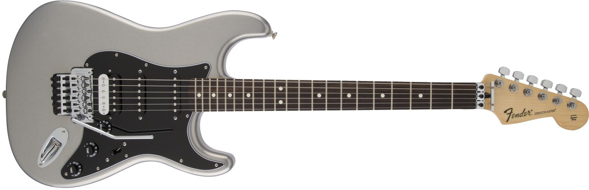 Fender Standard Stratocaster HSS with Floyd Rose
