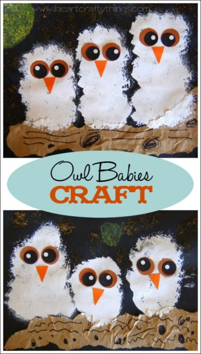 Easy owl crafts for kids hubpages this craft idea came from a story owl solutioingenieria Gallery