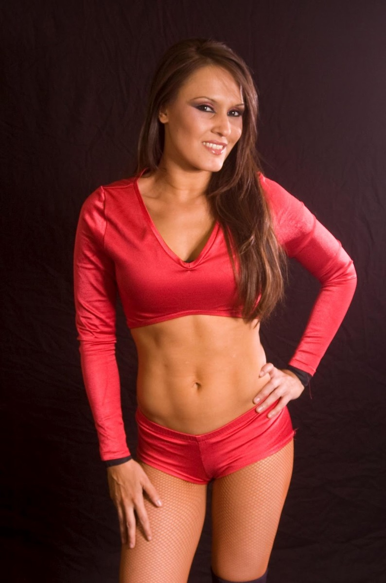 Cheerleader Melissa - Female Wrestling