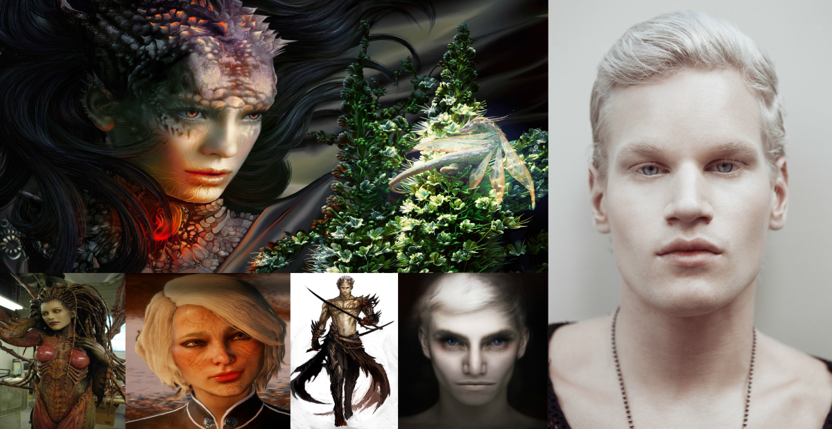 Most Anunnaki (Pleaidians) have light fair white skin and white hair or what we humans would call Albinos, in UFOology they are known as the White Nordics.