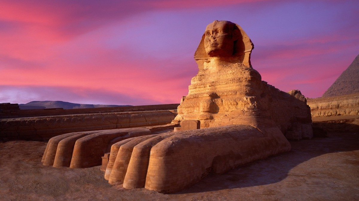 The Sphinx originally had a lion face but was defile and replaced by certain factions of the Anunnaki, as an insult to the Founder Race of Felines it was built to pay tribute too.