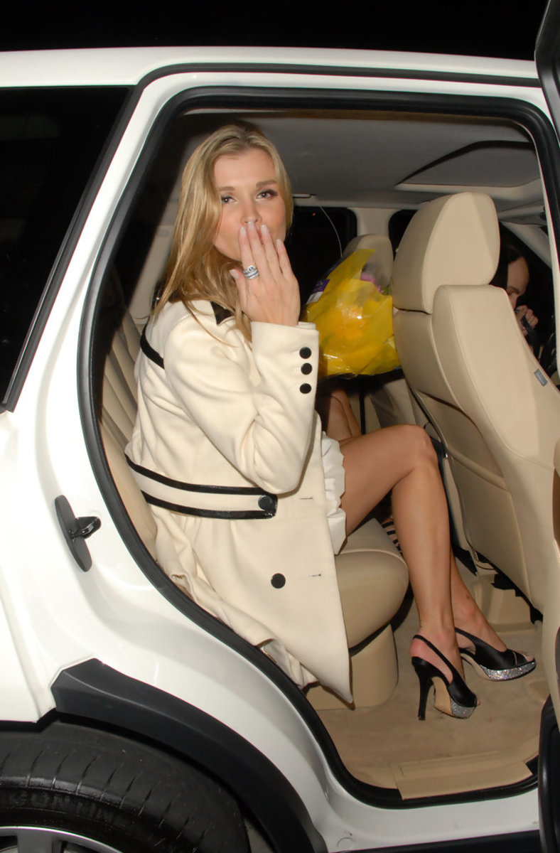 Joanna Krupa celebrating her birthday. And it looks like she is blowing a kiss to her fans and supporters.