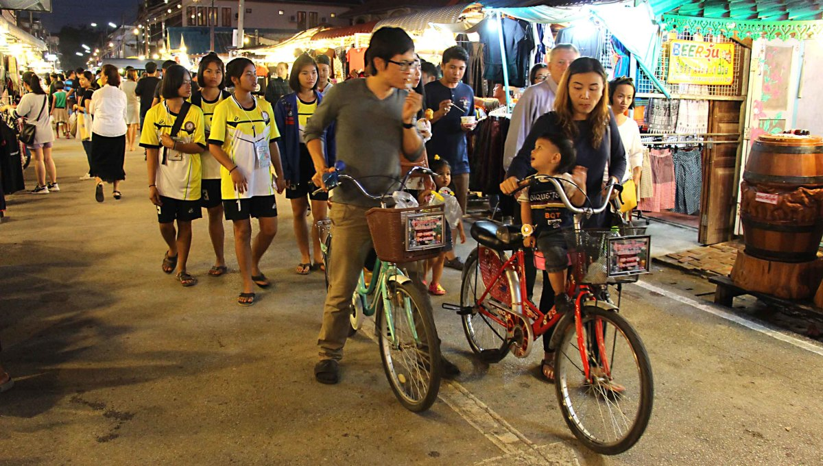 If you want to really enjoy the Walking Street - walk. But if you want to go a little bit faster - get a bicycle!