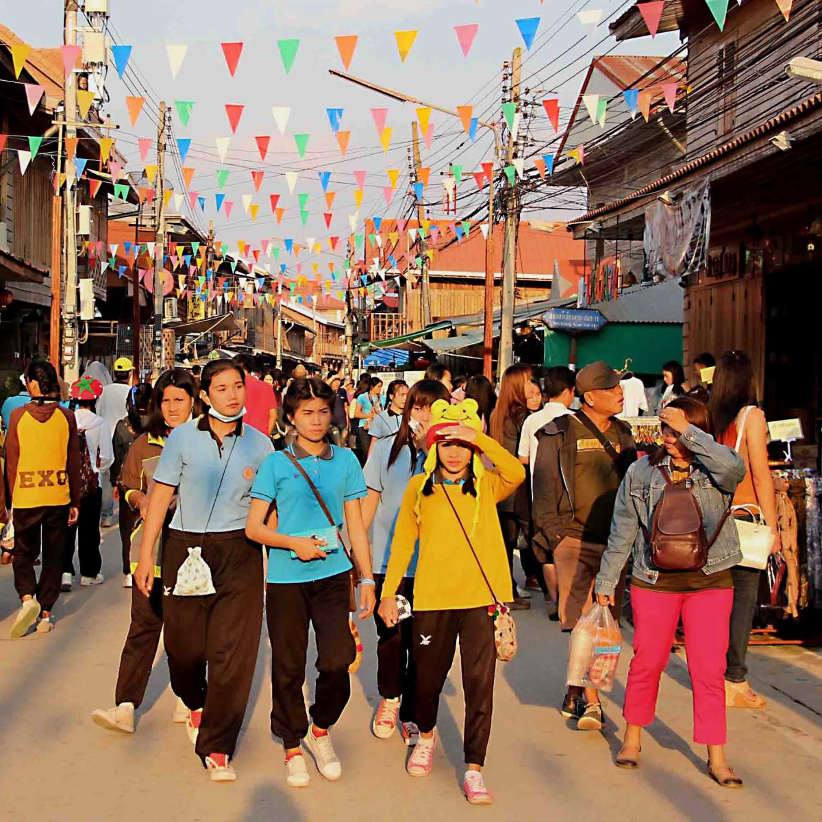 The Chiang  Khan Walking Street