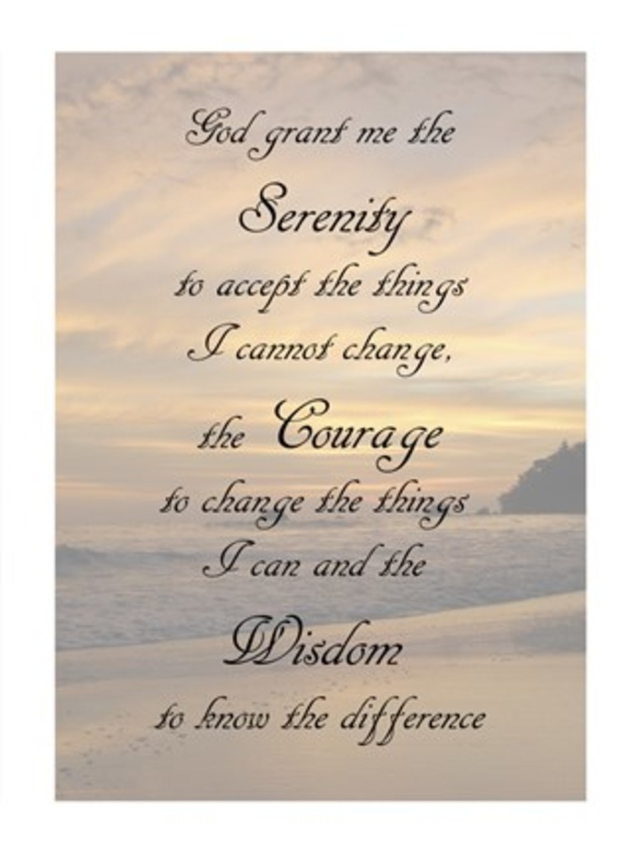 Using the Serenity Prayer as Life's Compass
