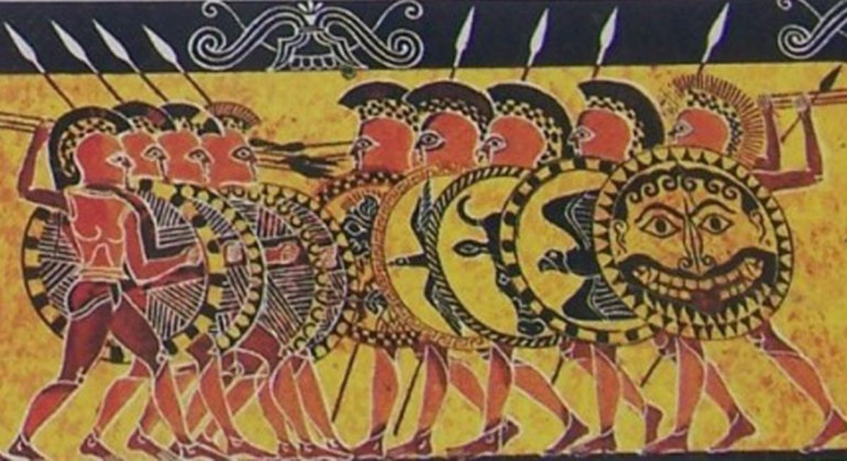 The Chigi Vase is from the seventh century BC and helps us better understand how Greeks fought, and is also a major source of contention among historians, however this article focuses primarily on the fourth century so the vase is a bit more accurate