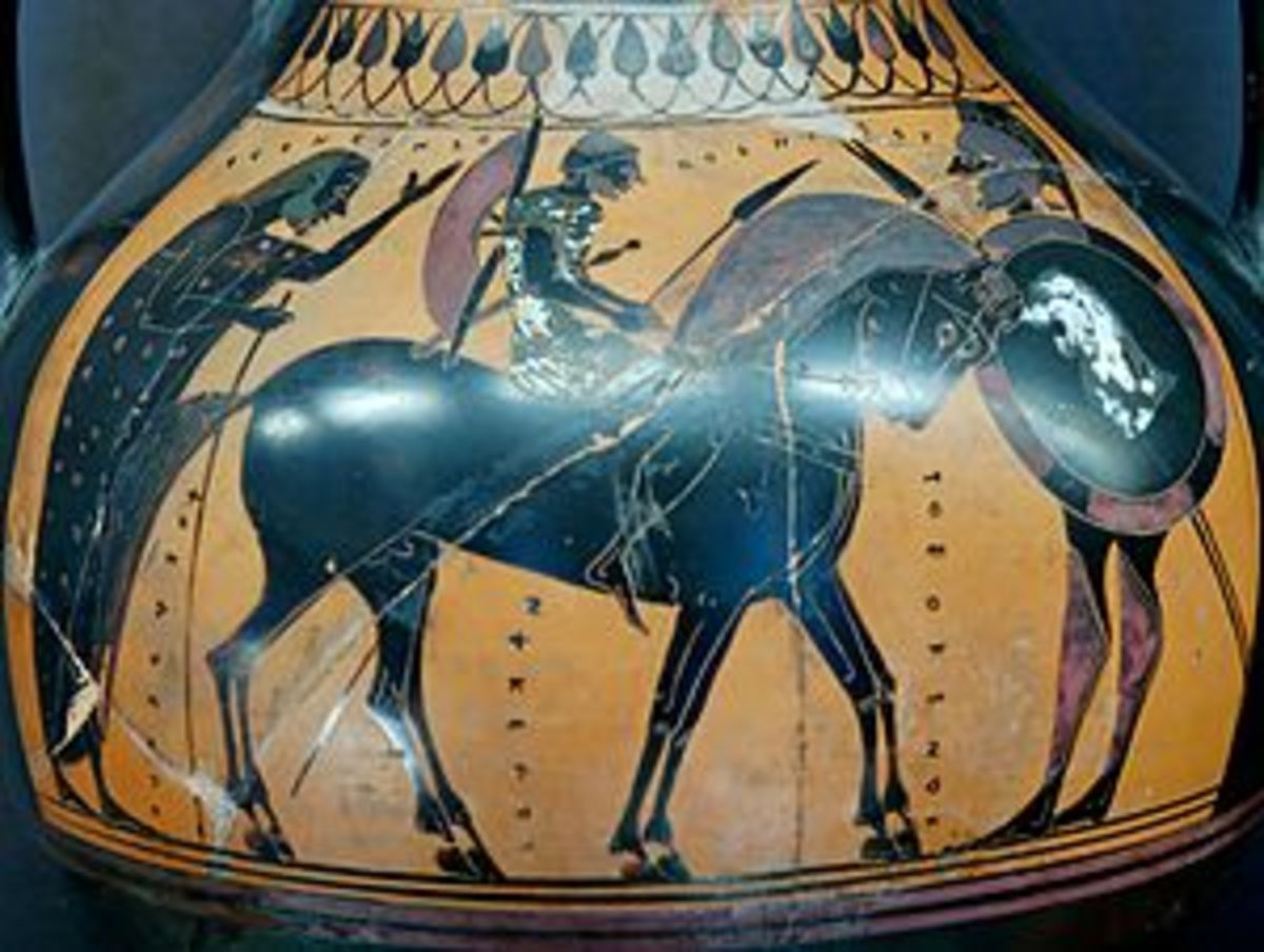 Greek cavalry units carried a much longer spear for attacking infantry units at a distance, and some carried multiple spears to throw. While they were not yet shock troops, they could inflict serious damage to infantry.