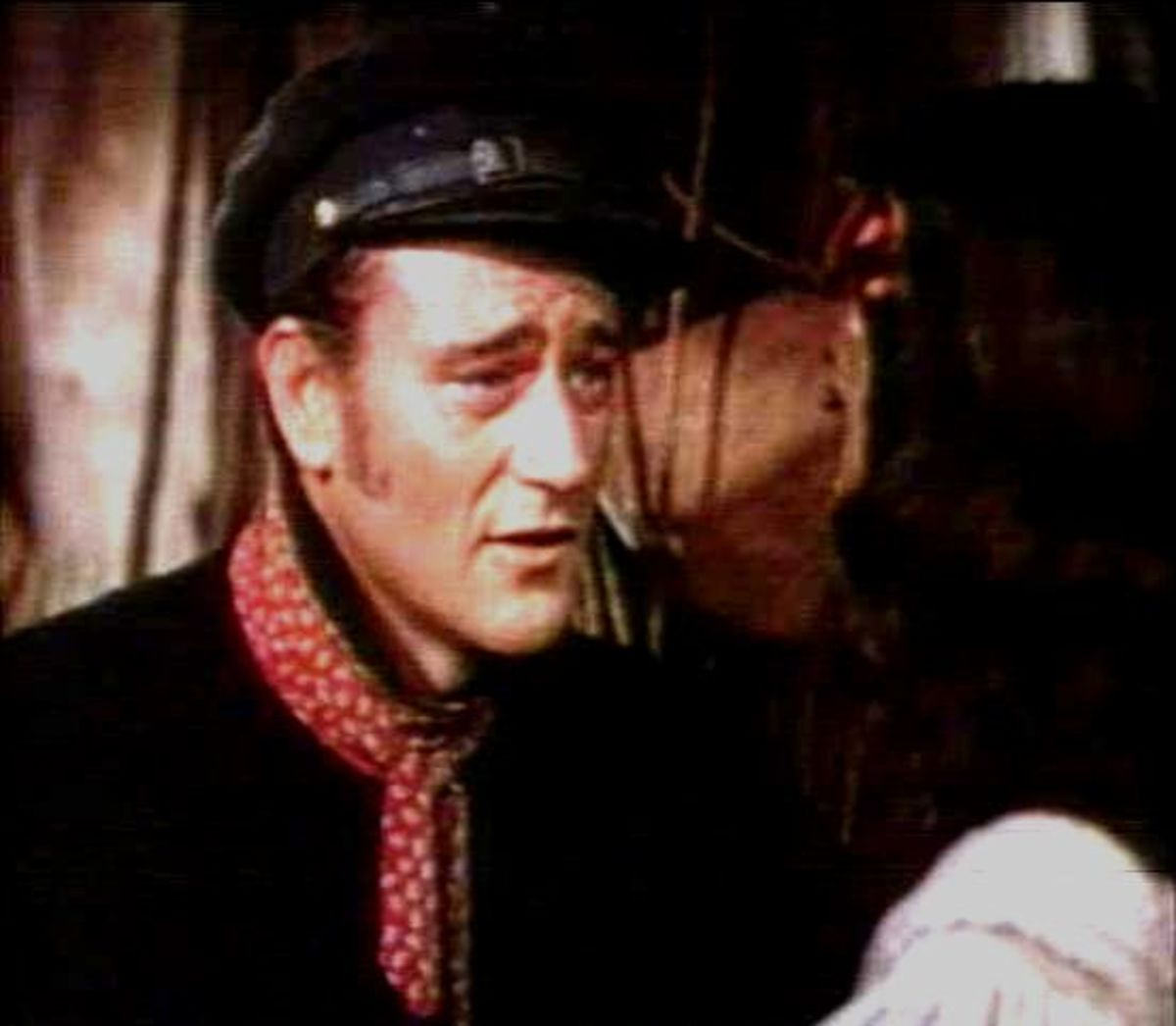 "Trailer Screenshot from the 1942 film ""Reap the Wild Wind."""