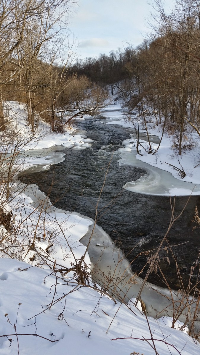 An Icy River