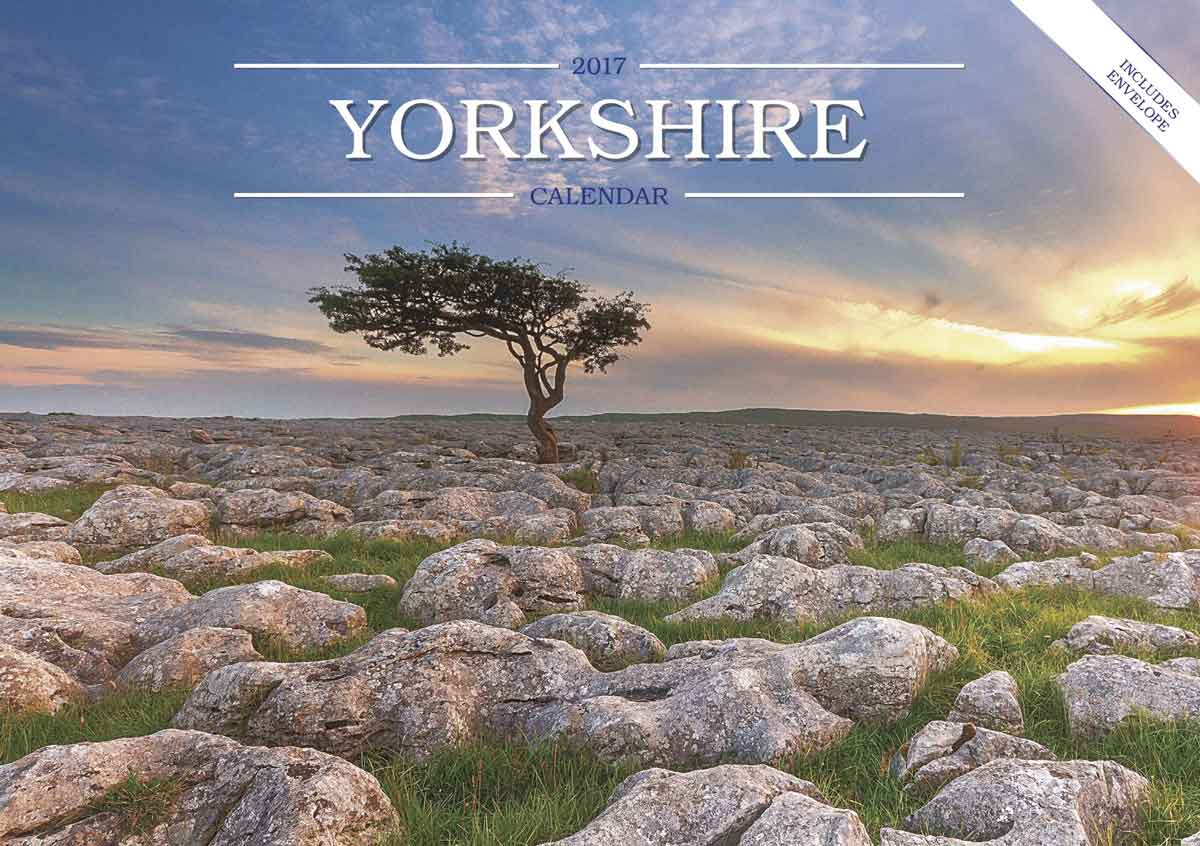 Yorkshire Calendar, 2017 - see t' scenery 'at meks t' folks as live in it!