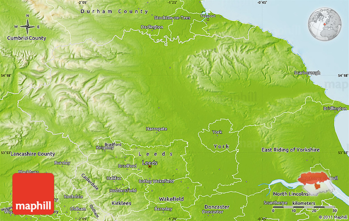 Yorkshire's lumps and bumps. To the west the Dales (more dales than moorland) and Pennines, a north-south range of high hills and mountains. The Wolds lie to the south-east of York, the North Yorkshire Moors to north-east (more moorland than dales)