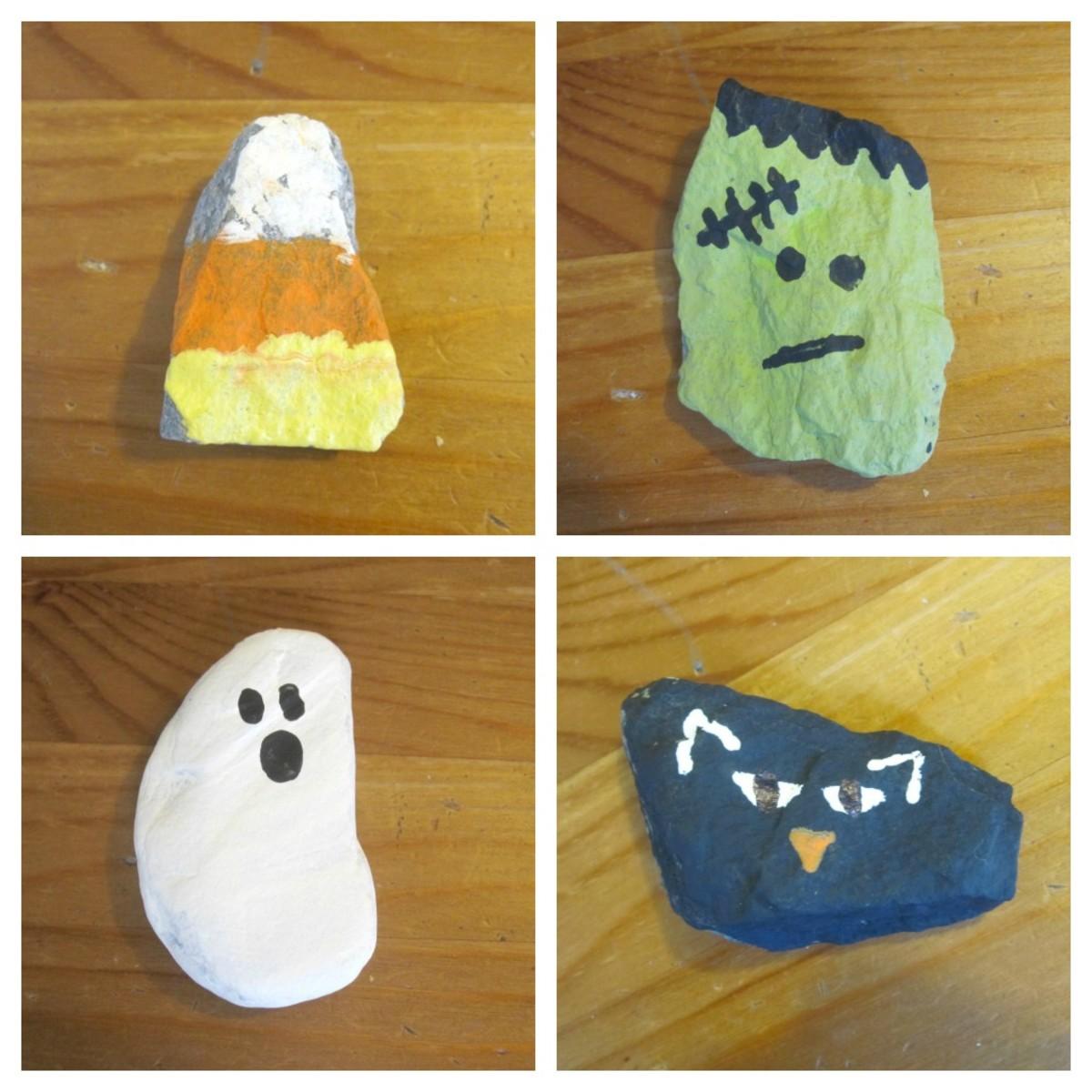 halloween-rockpainting