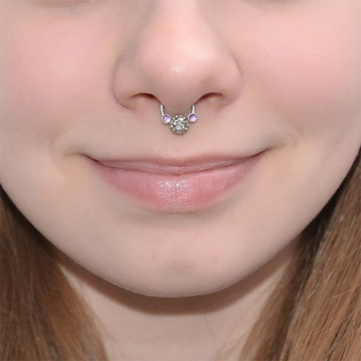 Why not bling up your nose ring with some gemstones!