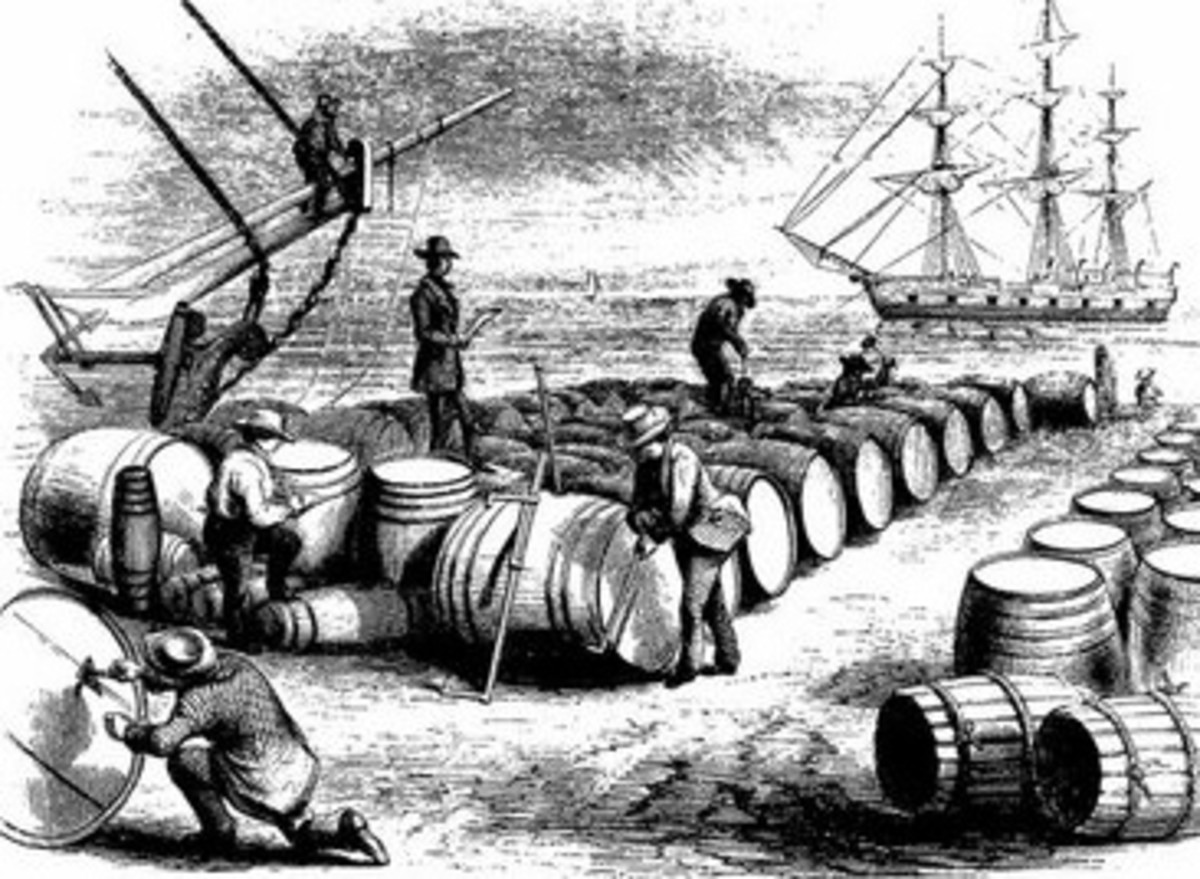 For centuries, barrels of beer have been the staple liquid refreshment of many a sailing ship