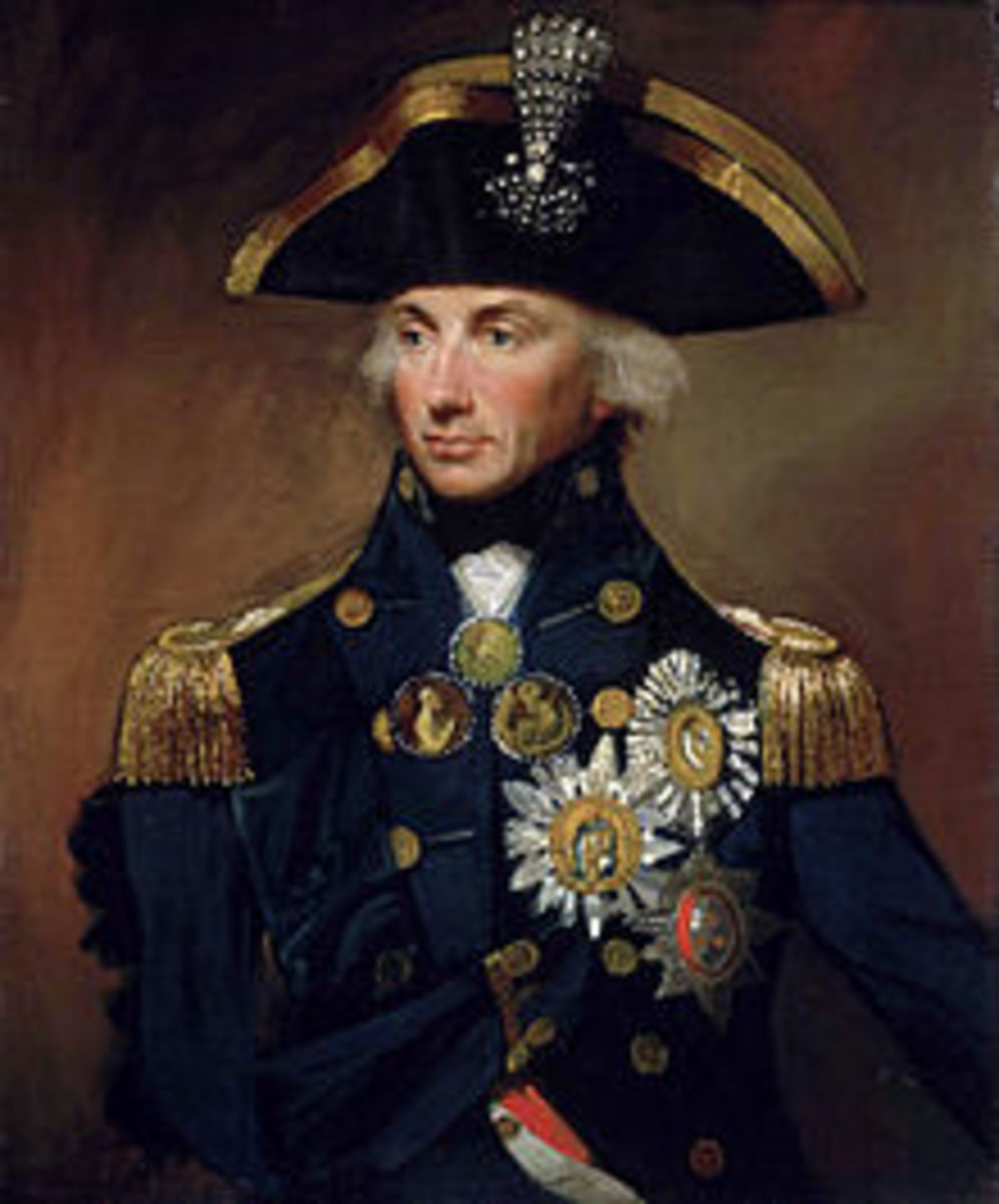 Portrait of Vice Admiral Horatio Francis Nelson, by