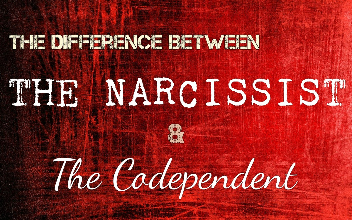The Difference Between Narcissists and Codependents