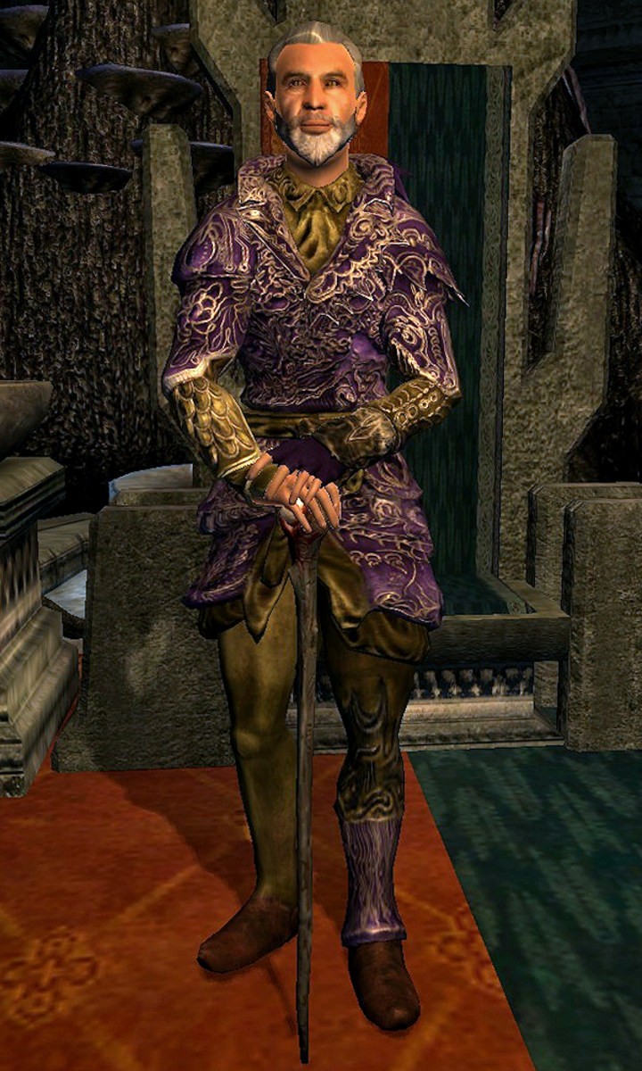 Sheogorath, the Daedric Prince of Madness.