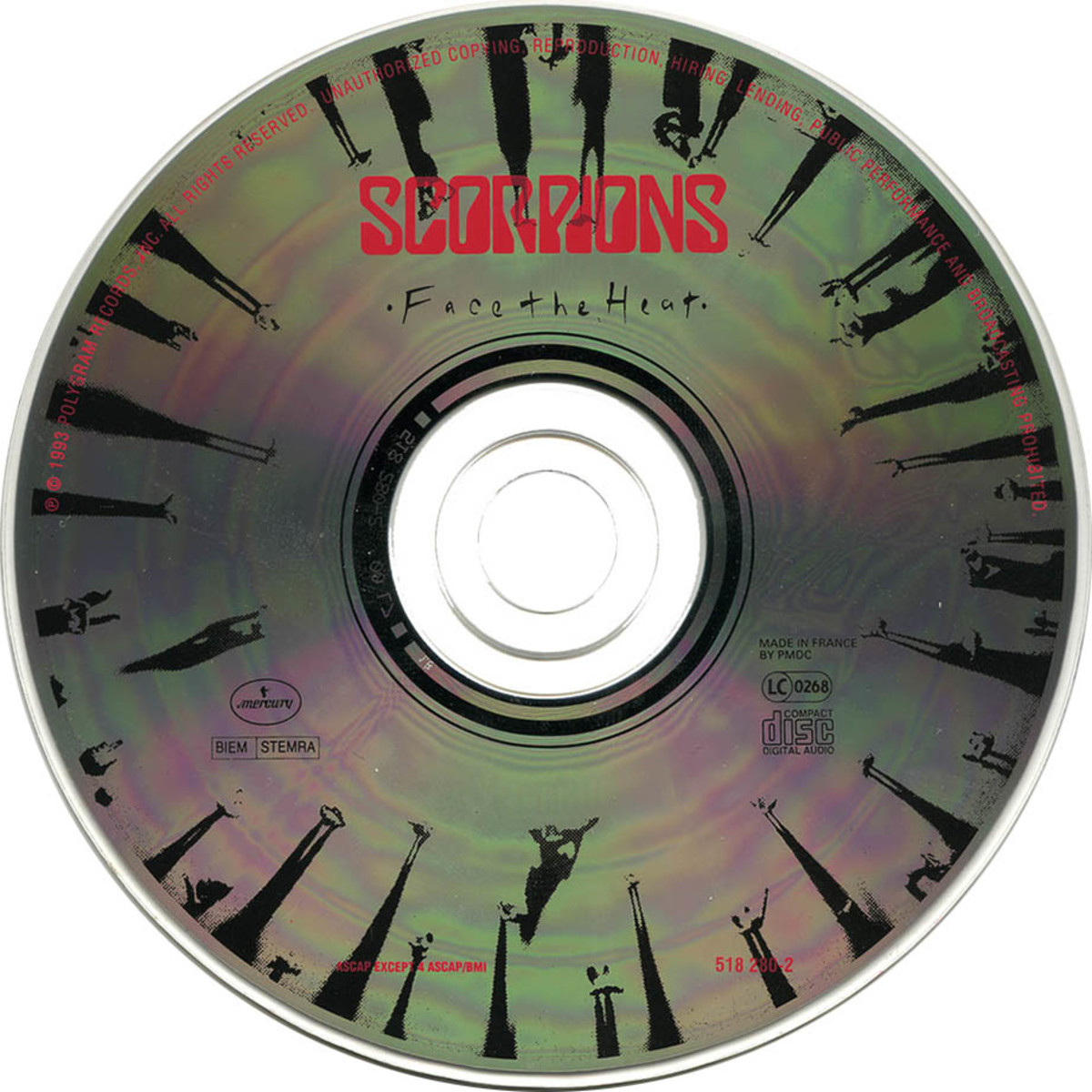 "Review of the Album ""Face the Heat"" by German Rock Band ""Scorpions"""