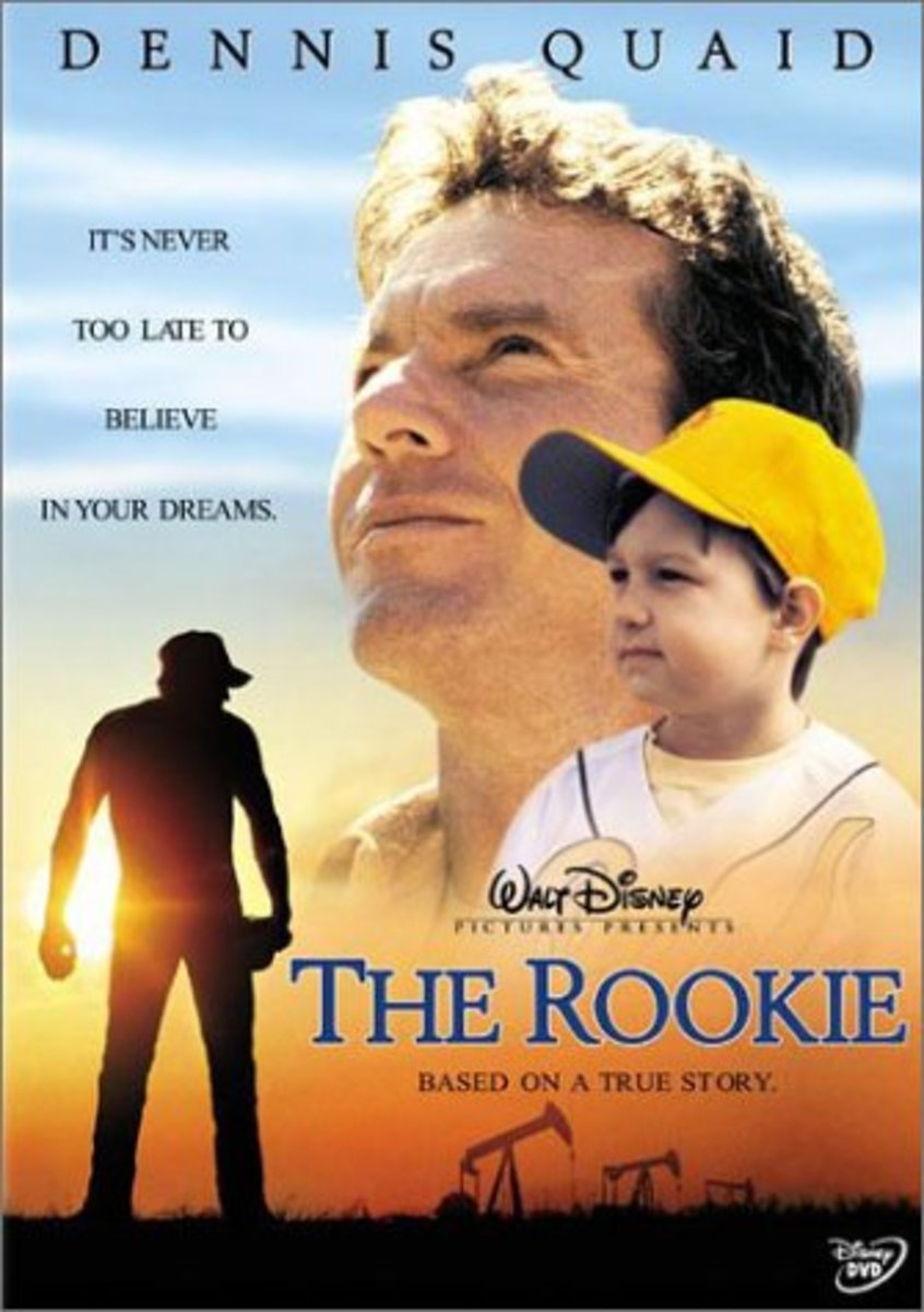 "Poster for the movie ""The Rookie"""