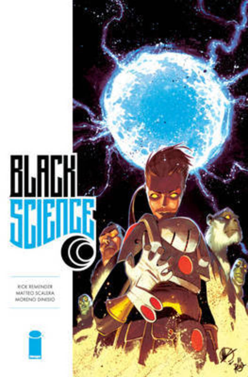 Cover of the digital edition of Black Science, Vol. 6.