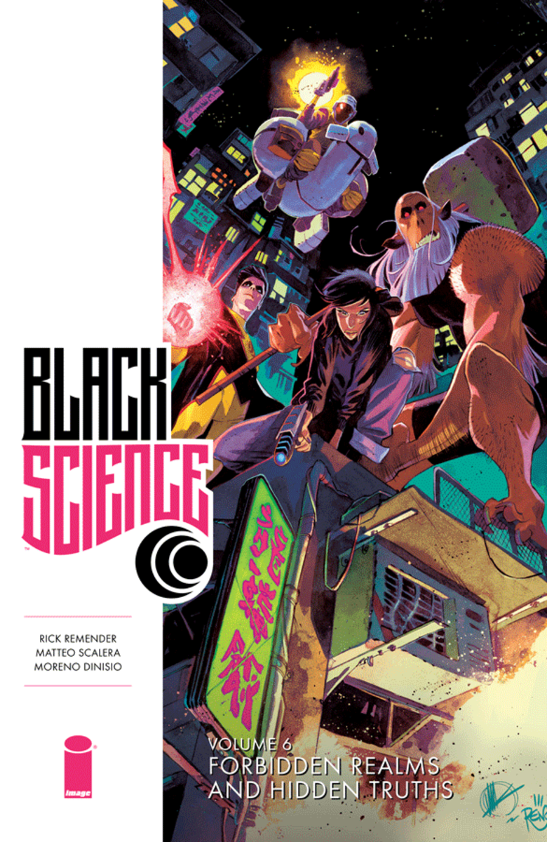 Cover art of Black Science, Vol. 6.