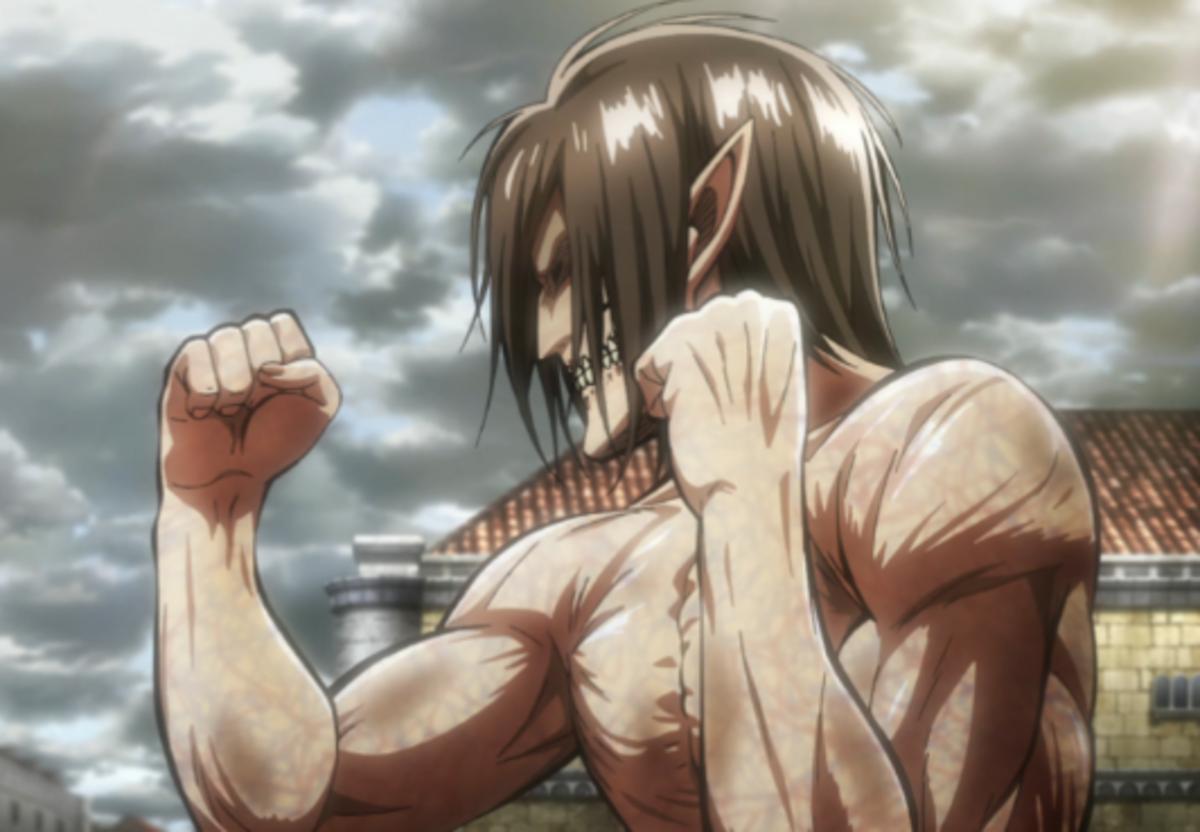 The Rogue Titan preparing to brawl.
