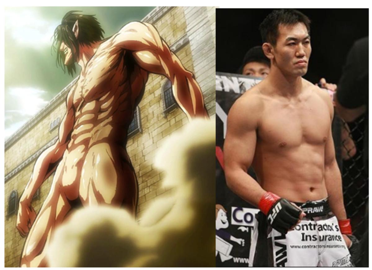 Yushin Okami, a real life Titan!