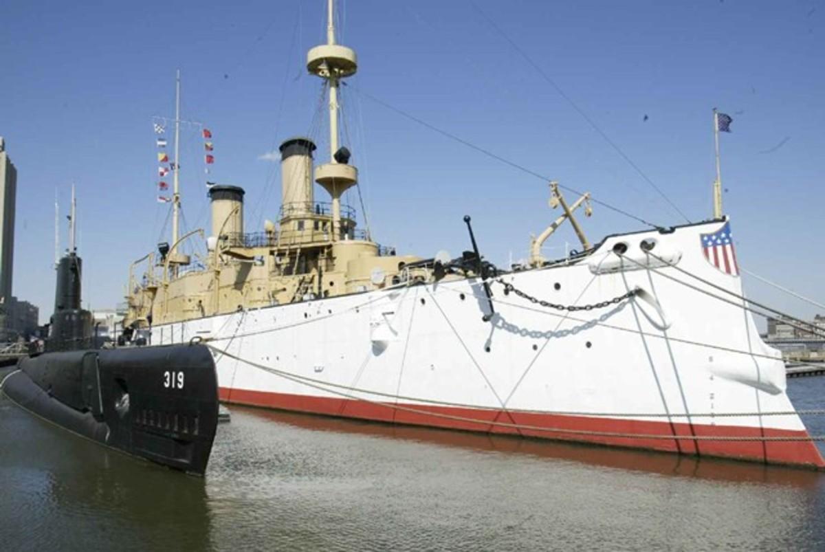 USS Olympia today.