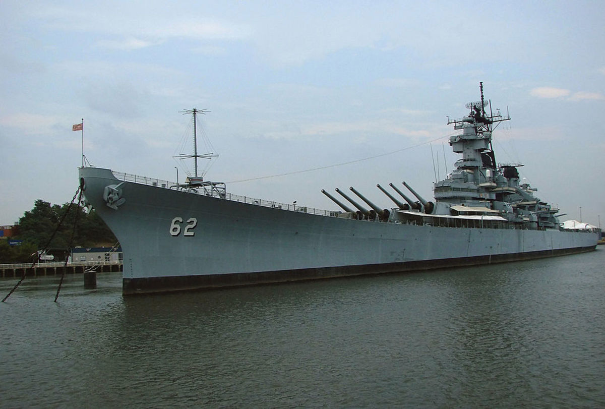 The USS New Jersey