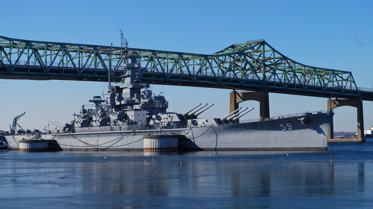 The USS Massachusetts today.
