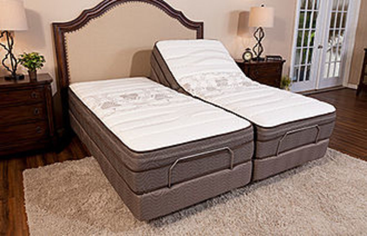 A great addition to any bedroom is an Adjustable Bed Base