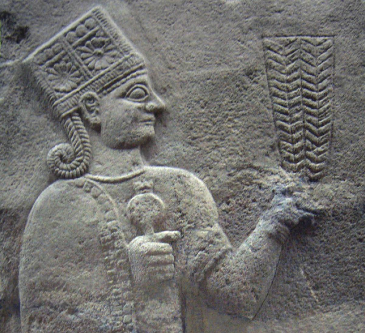 from the Museum of Anatolian Civilization, Turkey