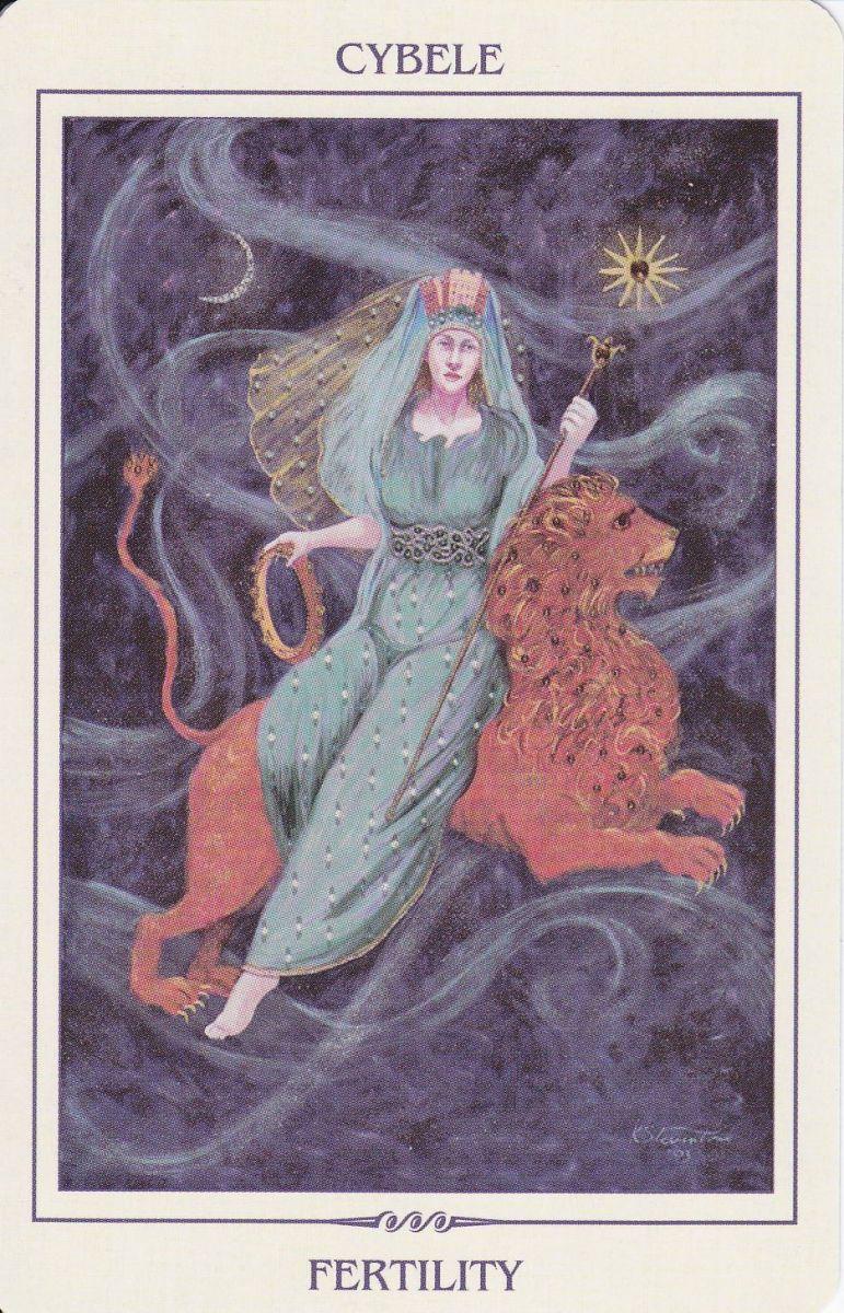 Cybele in Ancient Feminine Wisdom by Kay Stevenson&Brian Clark