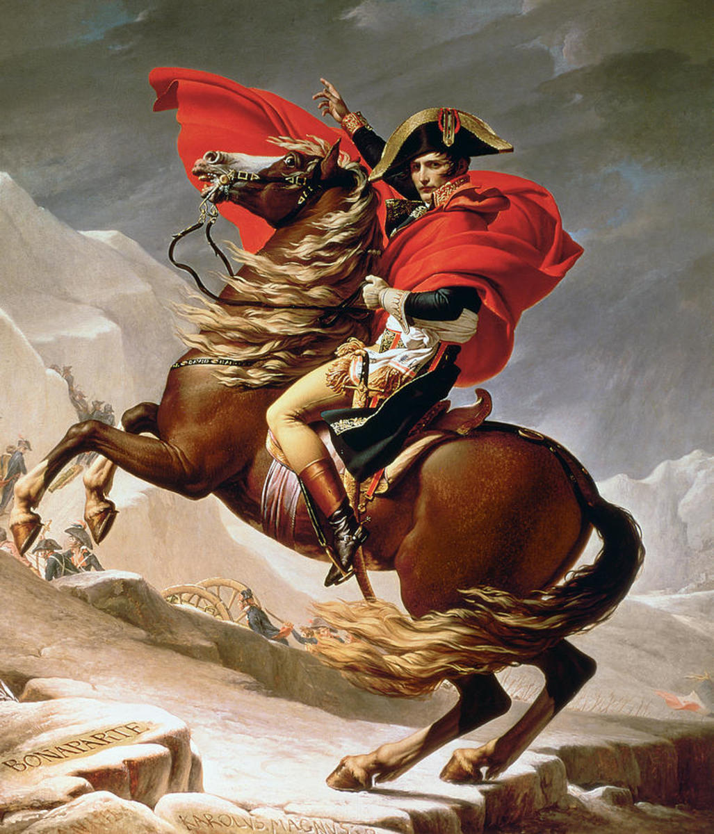 Napoleon fought, and led his troops onto and through the battlefields, while on horseback.  His decision-making ability has been historically considered nothing less than phenomenal throughout the French Revolutionary Wars.