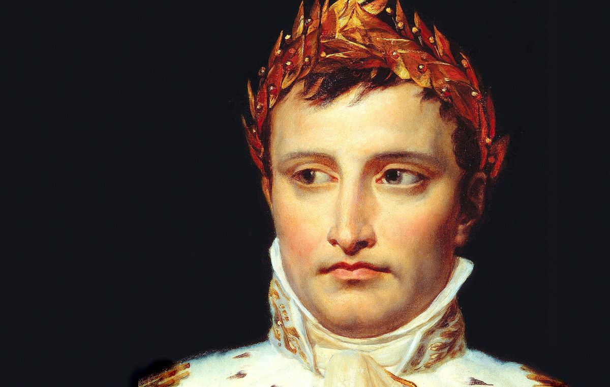 After the French Revolutionary Wars and a coup against the existing government in France, Napoleon was crowned emperor, displaying skills as a politician as well as a skilled military leader.