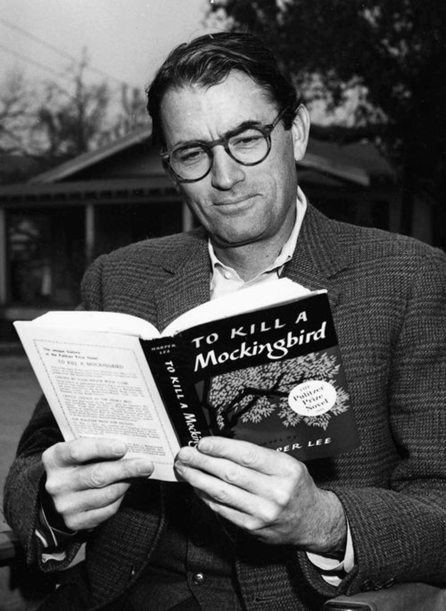 Gregory Peck played the role of Atticus Finch in 'To Kill a Mockingbird'