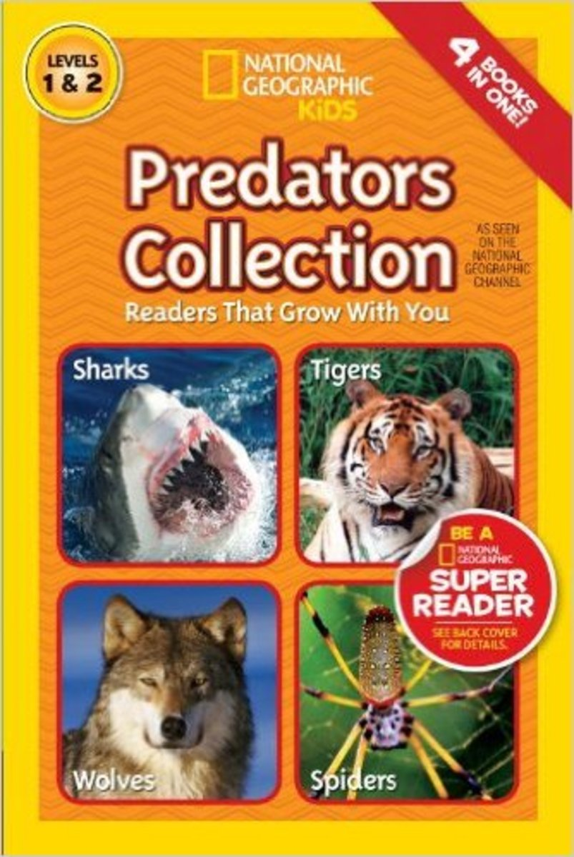 National Geographic Readers: Predators Collection: Readers That Grow With You Library by National Geographic