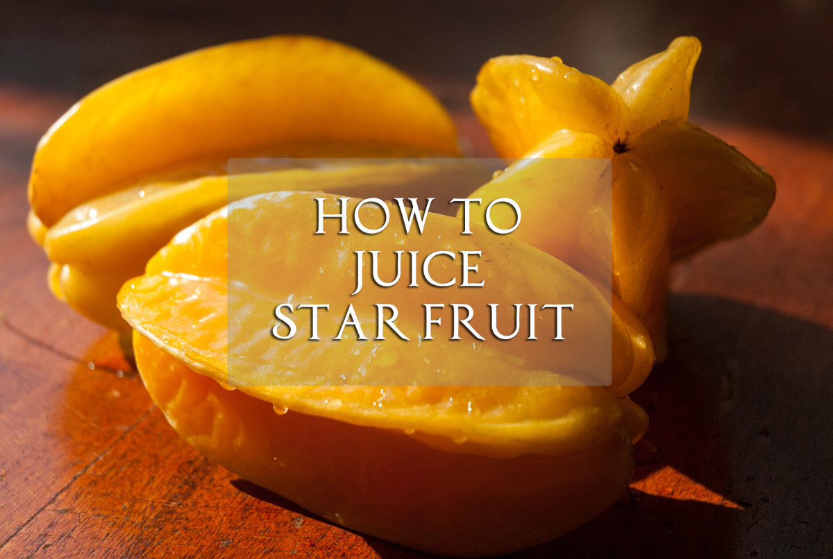 How to Juice Star Fruit Using a Blender