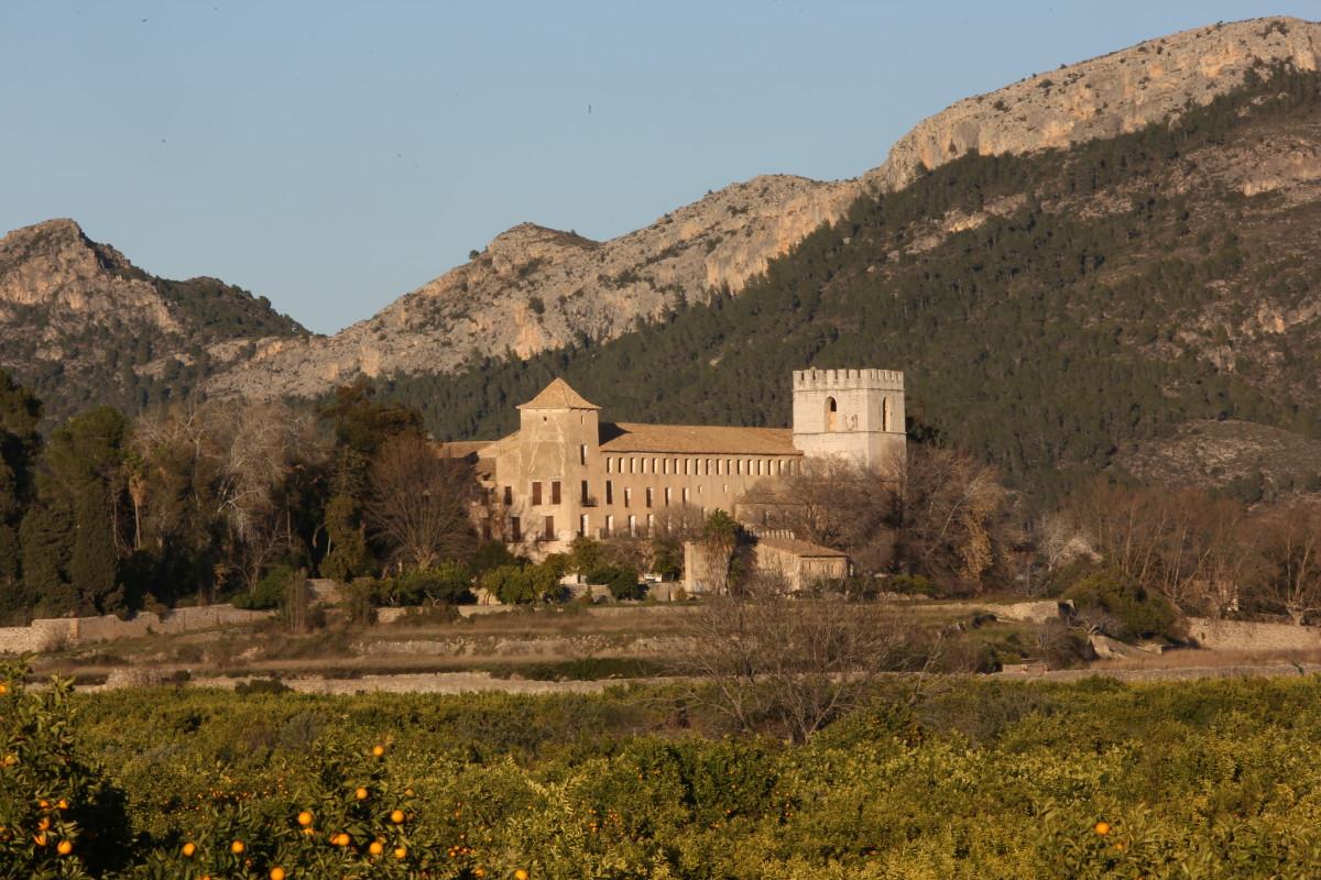 Monastery of Sant Jeroni de Cortalba, 9 kms from Gandia