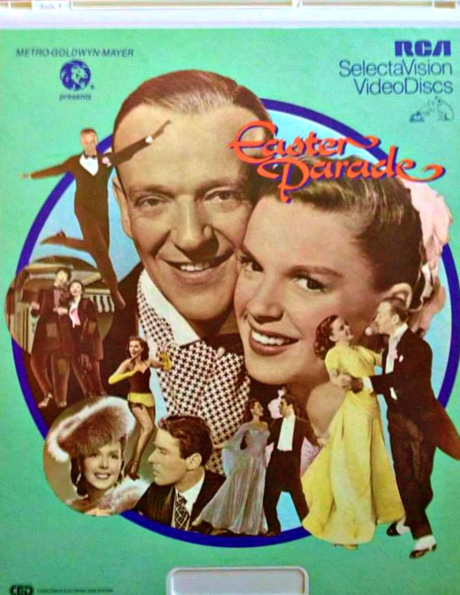 The Classic, Easter Parade, On a RCA SelectaVision CED Disc