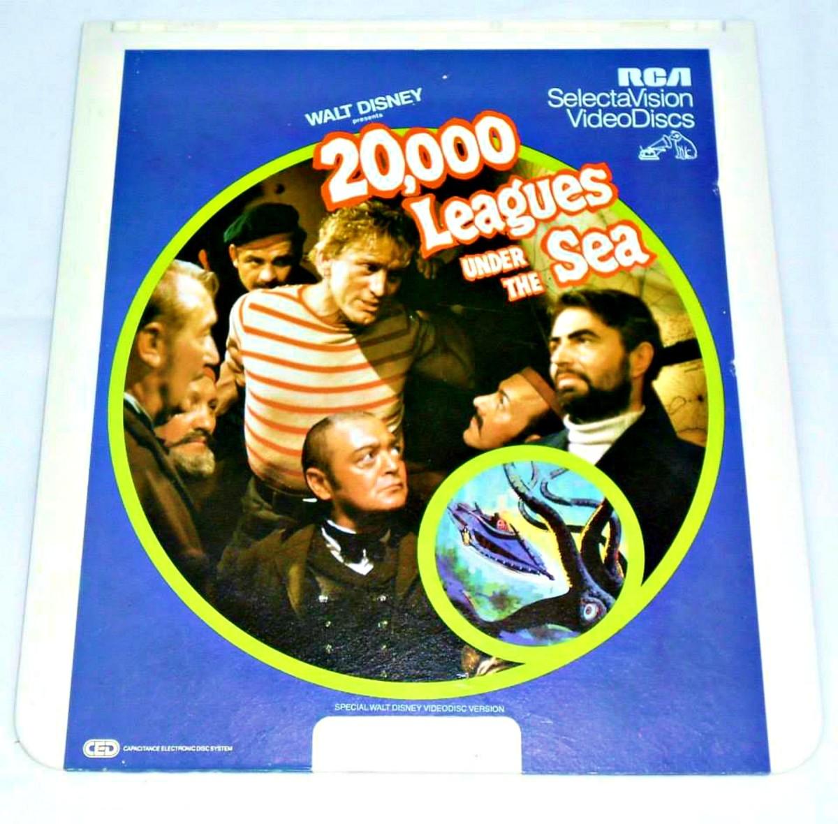 "RCA SelectaVision Walt Disney's ""20,000 Leagues Under The Sea"""