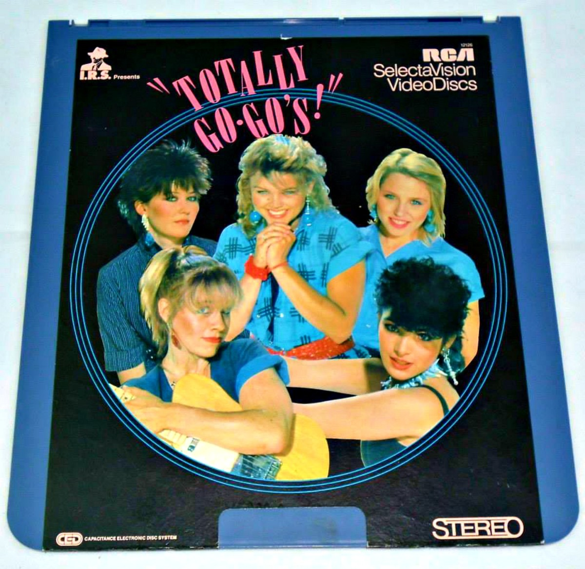 "RCA SelectaVision Video Disc  ""Totally Go-Go's!""  Charlotte Caffey, Belinda Carlisle, Gina Schock and the full cast & crew back in year 1981."