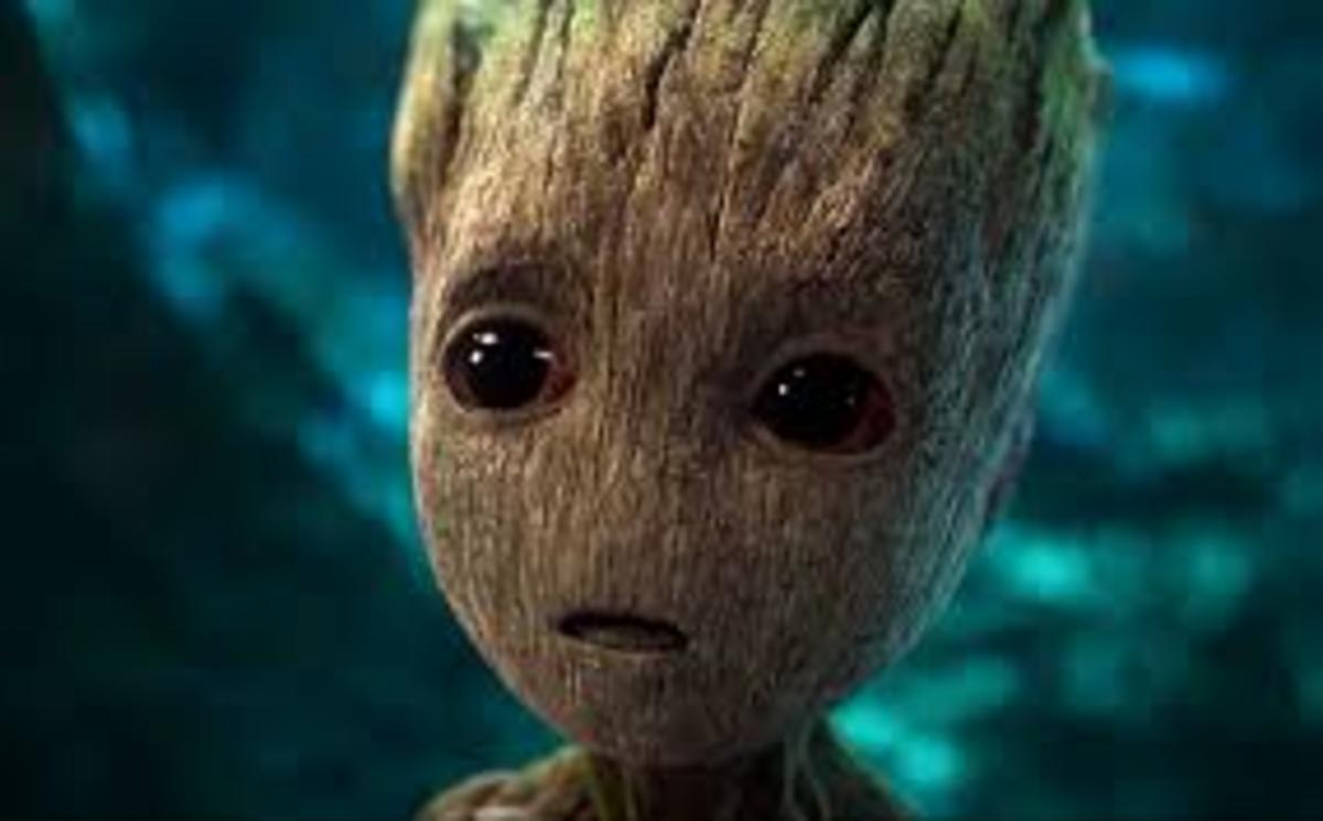 Baby Groot in Guardians of the Galaxy Vol 2.