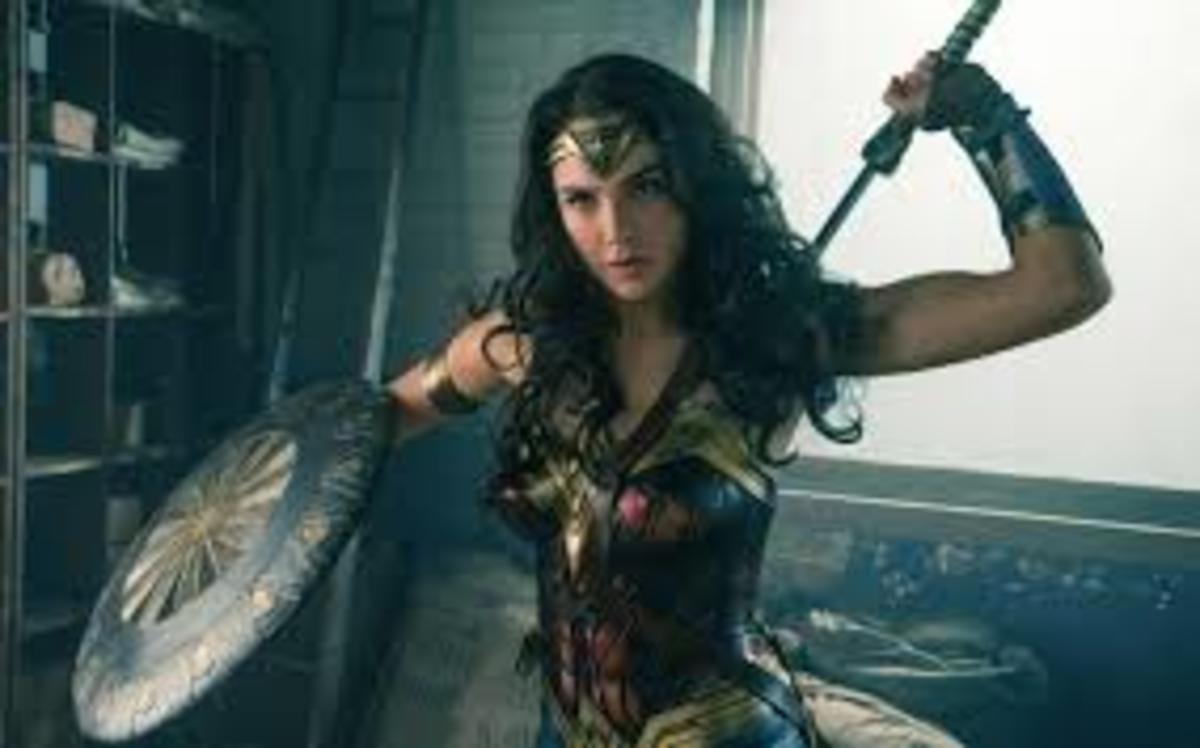 Gal Godat as Wonder Woman in Wonder Woman
