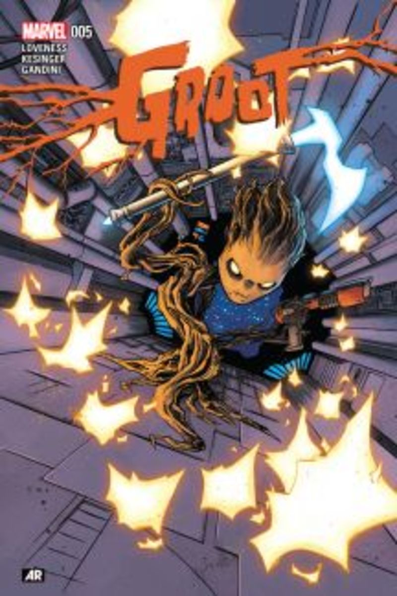 Groot #5 2015 cover