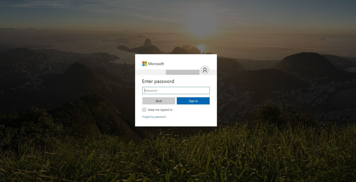 "Enter the password associated with your account, and then click ""Sign In."""
