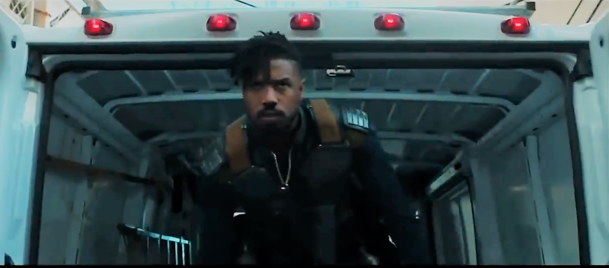 Michael B. Jordan (Creed, That Awkward Moment) Brings Intensity And Superb Fighting Skills To Black Panther.