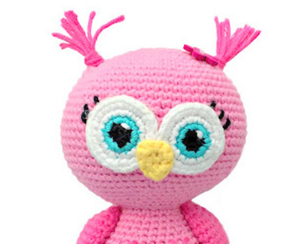 free-crochet-pattern-pink-owl-amigurumi-doll
