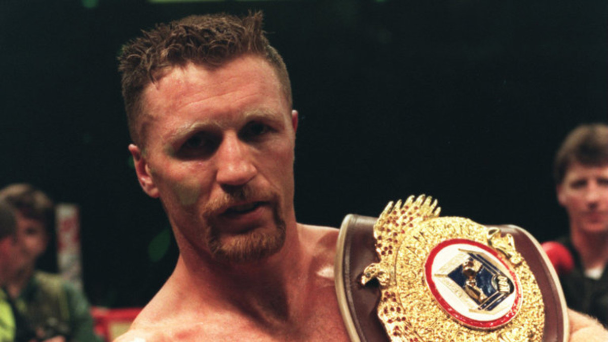 "Steve Collins, ""The Celtic Warrior"", Claims A Title"
